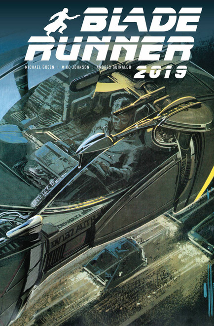 Titan Comics Blade Runner 2019 #11 Comic Book [Syd Mead Cover B]