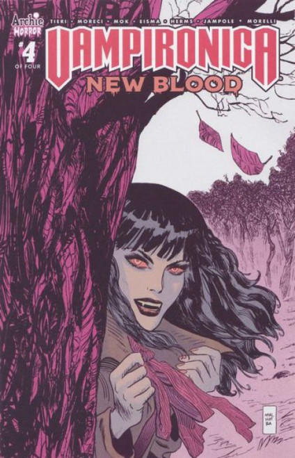 Archie Comic Publications Vampironica New Blood #4B Comic Book