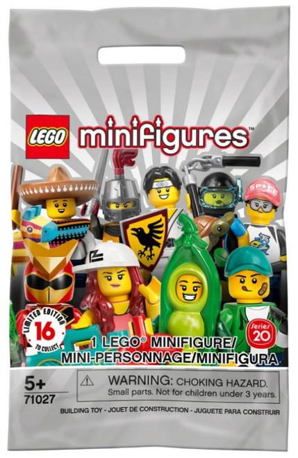 LEGO Minifigures Series 20 Mystery Pack #71027 [1 RANDOM Figure]