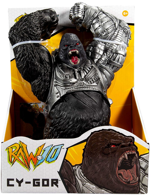 McFarlane Toys Raw10 Cy-Gor Exclusive Action Figure