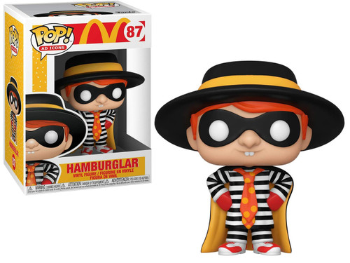 Funko McDonald's POP! Ad Icons Hamburglar Vinyl Figure #87