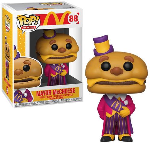 Funko McDonald's POP! Ad Icons Mayor McCheese Vinyl Figure #88