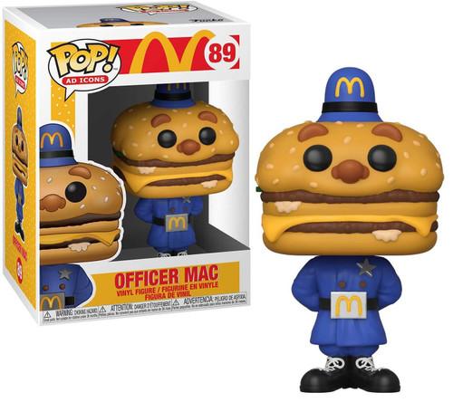 Funko McDonald's POP! Ad Icons Officer Big Mac Vinyl Figure