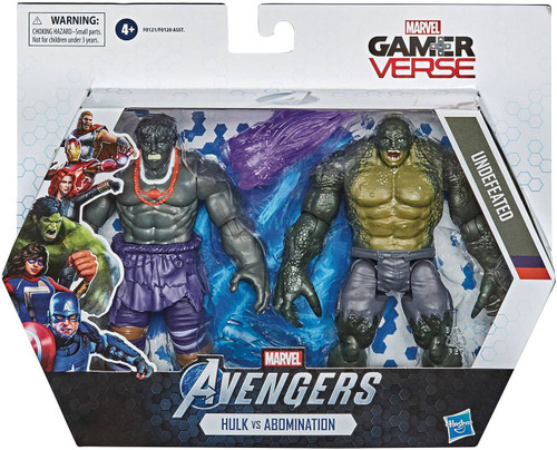 Marvel Avengers Video Game Gamerverse Hulk & Abomination Action Figure 2-Pack