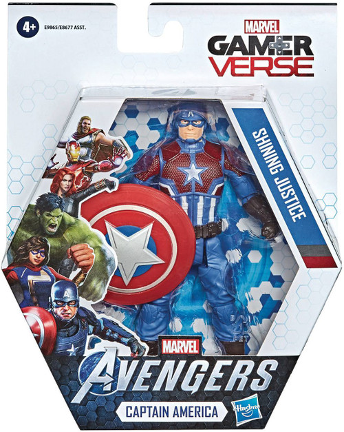 Marvel Avengers Gamerverse Captain America Action Figure [Shining Justice]