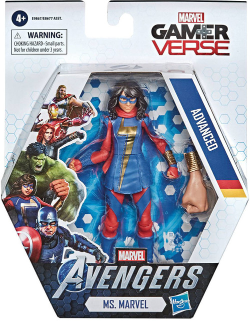 Avengers Gamerverse Ms. Marvel Action Figure [Kamala Khan, Advanced]