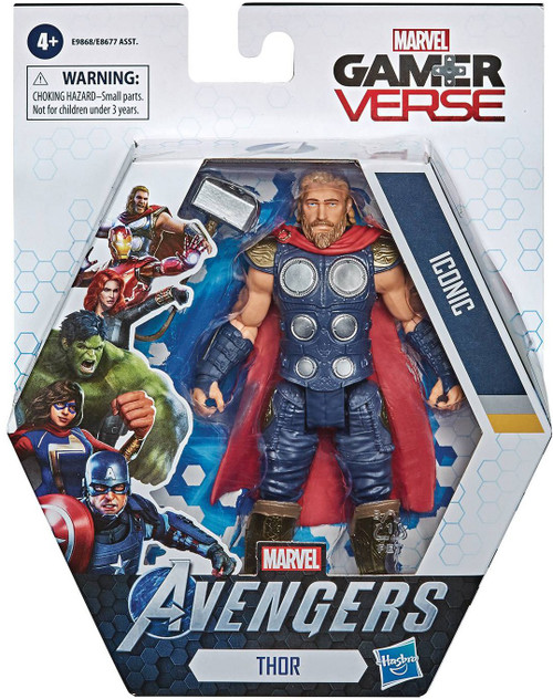 Marvel Avengers Gamerverse Thor Action Figure [Iconic]