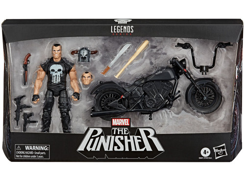 Marvel Legends Punisher Motorcycle & Action Figure
