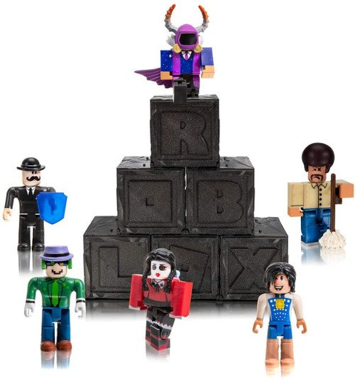 Roblox Series 7 Mystery 6-Pack [Black Cube]