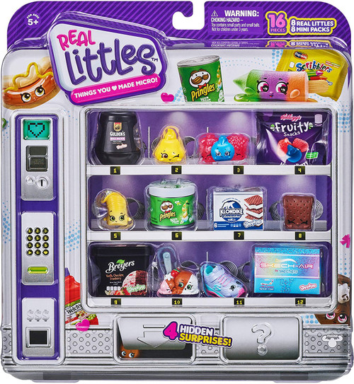 Shopkins Real Littles Season 14 Shopper 8-Pack [8 Shopkins & 8 Mini Packs, RANDOM Figures!]