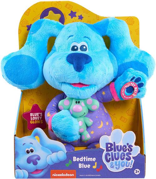 Blue's Clues & You! Bedtime Blue 10.5-Inch Plush