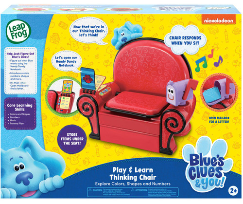 Leapfrog Blue's Clues & You! Play & Learn Thinking Chair Playset