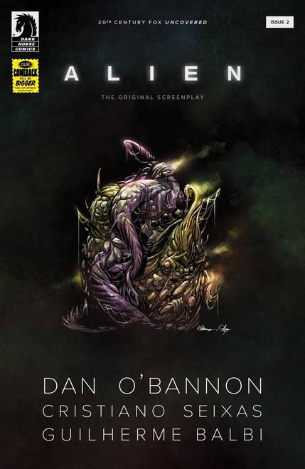 Dark Horse Comics Aliens: Original Screen Play #2 Comic Book