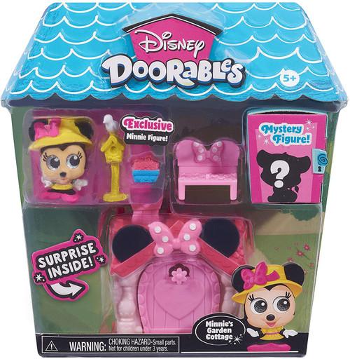 Disney Doorables Minnie Mouse's Garden Cottage Mini Display Set (Pre-Order ships October)