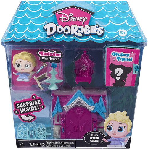 Disney Doorables Elsa's Frozen Castle Mini Display Set