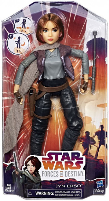 Star Wars Forces of Destiny Adventure Jyn Erso Figure [Damaged Package]