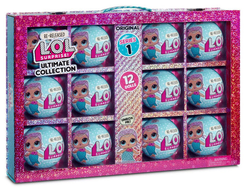 LOL Surprise Re-Released Original Series 1 Merbaby Ultimate Collection Mystery 12-Pack
