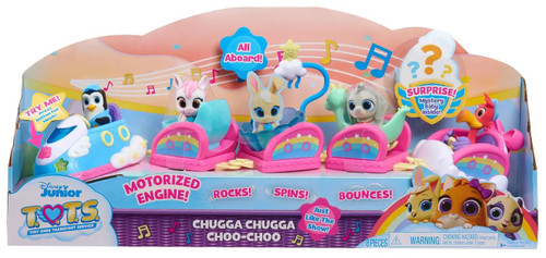 Disney Junior TOTS (Tiny Ones Transport Service) Chugga Chugga Choo-Choo Exclusive Figure 5-Pack
