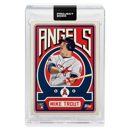 MLB Topps Project 2020 Baseball 2011 Mike Trout Trading Card [#187, by Grotesk]