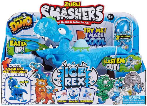 Smashers Series 3 Dino Ice Age Ice Rex Playset