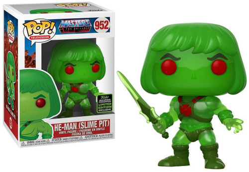 Funko Masters of the Universe POP! Animation He-Man Exclusive Vinyl Figure #952 [Slime Pit]