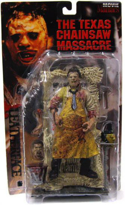 McFarlane Toys The Texas Chainsaw Massacre Movie Maniacs Series 1 Leatherface Action Figure [Bloody, Damaged Package]