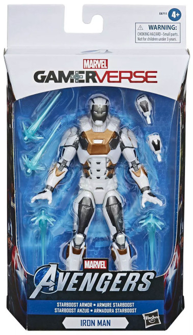 Gamerverse Marvel Legends Iron Man Exclusive Action Figure [Starboost Armor]