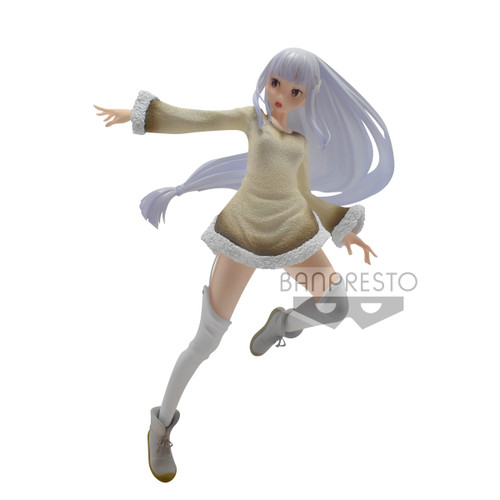 Re:Zero Starting Life In Another World Espresto Furry Materials Emilia 8.3-Inch Collectible PVC Figure (Pre-Order ships January)