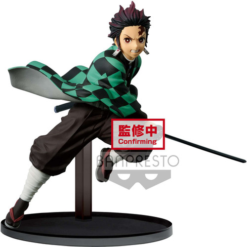 Demon Slayer: Kimetsu no Yaiba Big Vibration Stars Tanjiro Kamado 6-Inch Collectible PVC Figure