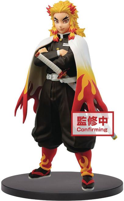 Demon Slayer: Kimetsu no Yaiba Kyojuro Rengoku 6-Inch Collectible PVC Figure [vol. 10 B] (Pre-Order ships January)