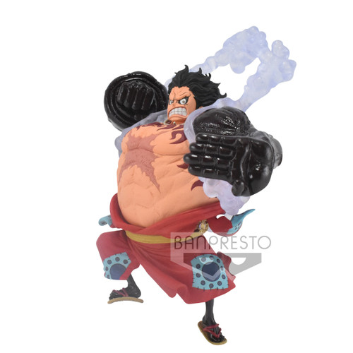 One Piece King of Artist Wanokuni The Monkey D. Luffy Gear 4 5-Inch Collectible PVC Figure