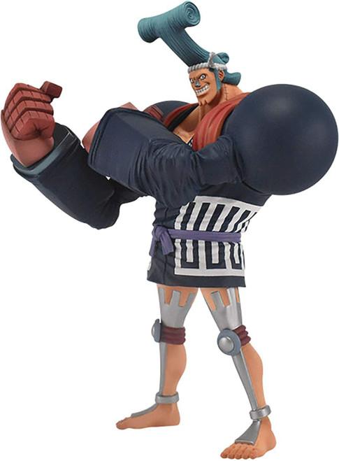 One Piece The Grandline Men - Wanokuni Franky Collectible PVC Figure [Vol. 8]