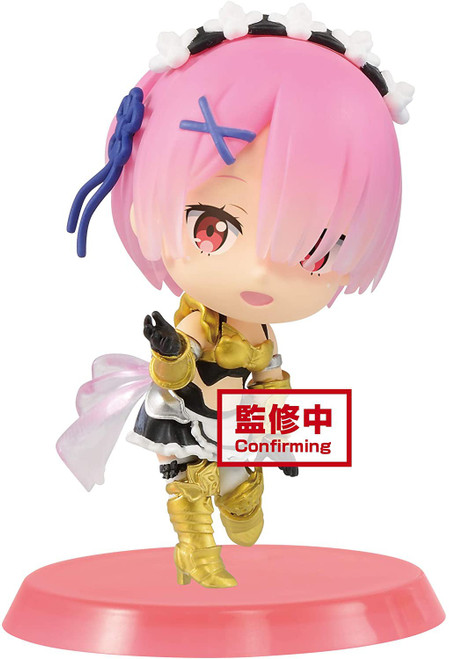 Re:Zero Starting Life In Another World Chibikyun Character Ram 2.8-Inch Collectible PVC Figure [Vol 3 A] (Pre-Order ships January)