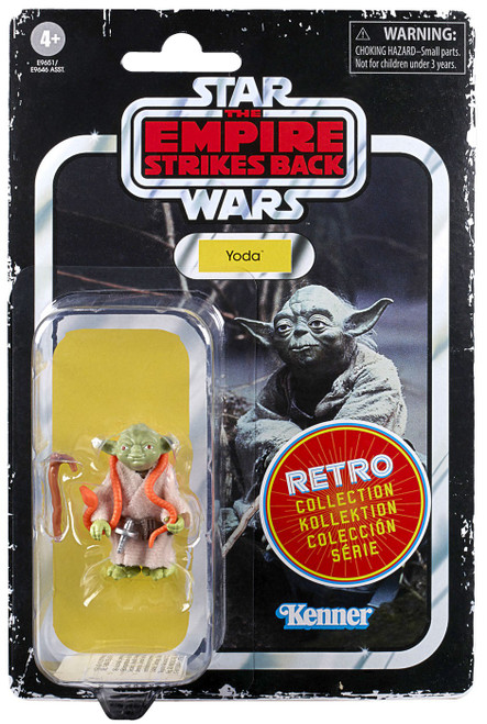 Star Wars The Empire Strikes Back Retro Collection Yoda Exclusive Action Figure