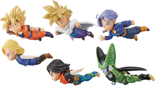 Dragon Ball Z WCF Historical Characters Vol. 2 Historical Characters 2.5-Inch Box of 12 PVC Figures (Pre-Order ships November)