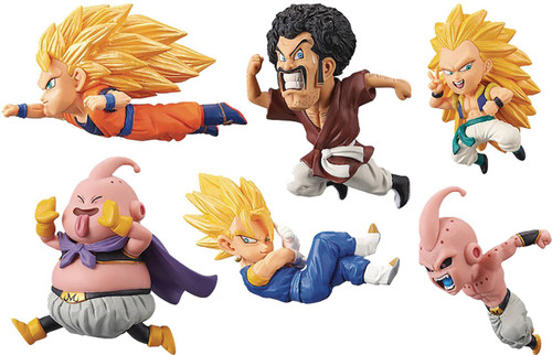 Dragon Ball Z WCF Historical Characters Vol. 3 Historical Characters 2.5-Inch Box of 12 PVC Figures (Pre-Order ships February)
