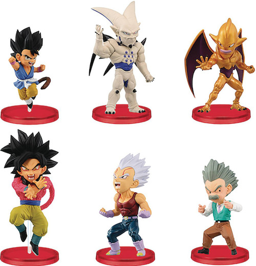 WCF Dragon Ball GT Volume 4 2.5-Inch Box of 12 PVC Figures (Pre-Order ships February)