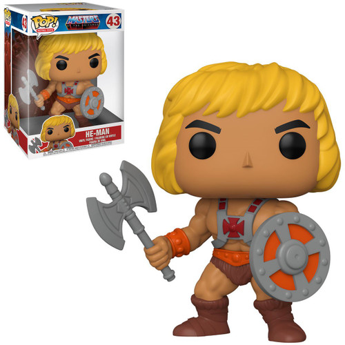 Funko Masters of the Universe POP! Animation He-Man 10-Inch Vinyl Figure #43 [Super-Sized]