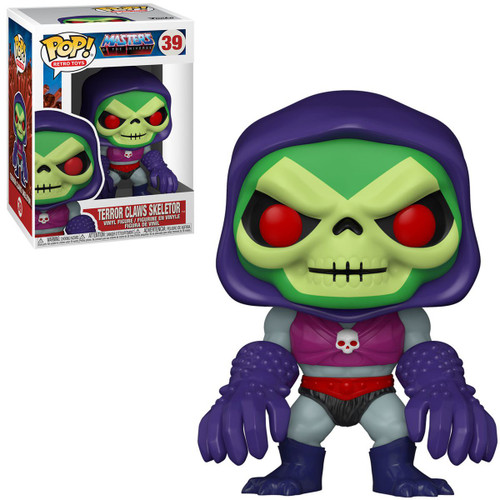 Funko Masters of the Universe POP! Animation Skeletor Vinyl Figure #39 [with Terror Claws] (Pre-Order ships January)