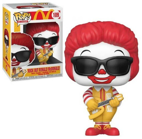 Funko McDonald's POP! Ad Icons Rock Out Ronald Vinyl Figure #109