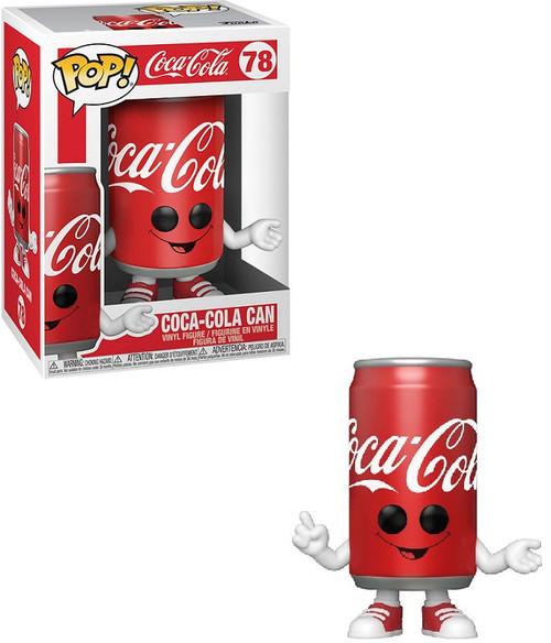 Funko Coca-Cola POP! Foodies Coke Can Vinyl Figure #78