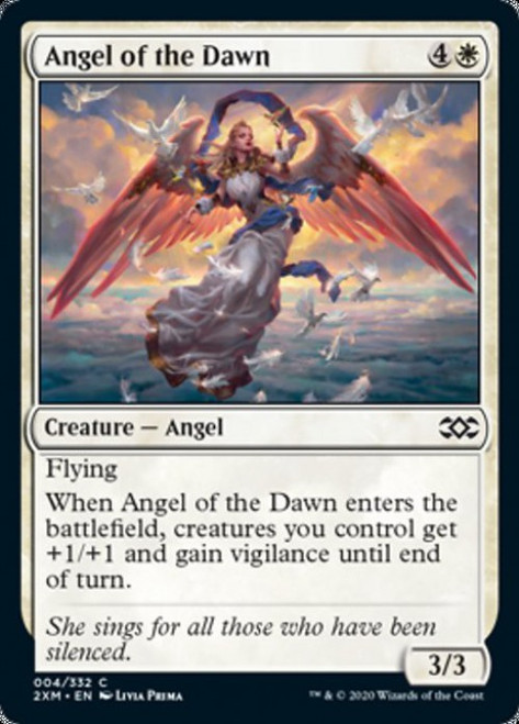MtG Double Masters Common Angel of the Dawn #4
