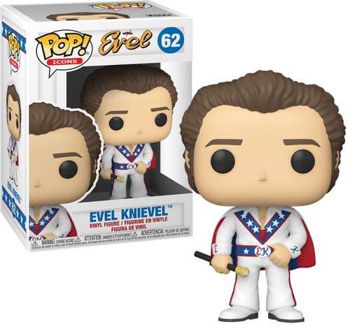 Funko POP! TV Evel Knievel Vinyl Figure [Regular Version, White Suit]