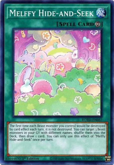YuGiOh Rise of the Duelist Common Melffy Hide-and-Seek ROTD-EN057