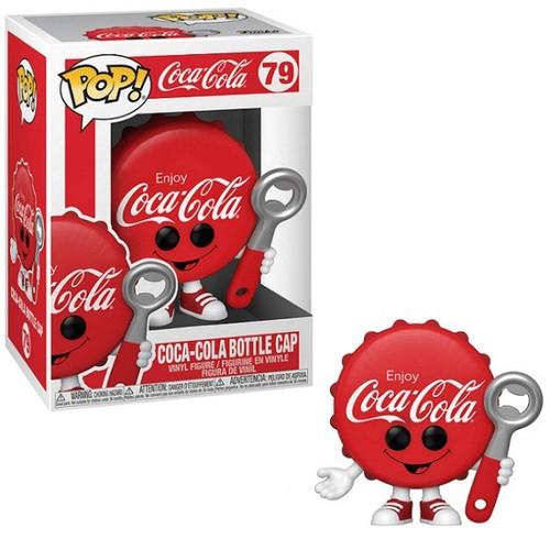 Funko Coca-Cola POP! Foodies Coke Bottle Cap Vinyl Figure