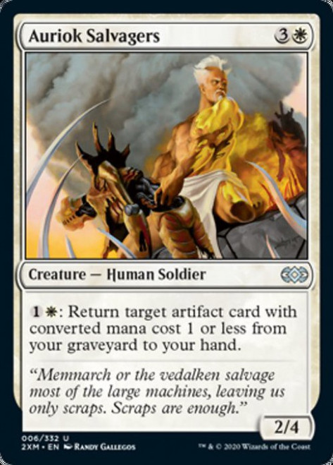 MtG Double Masters Uncommon Auriok Salvagers #6