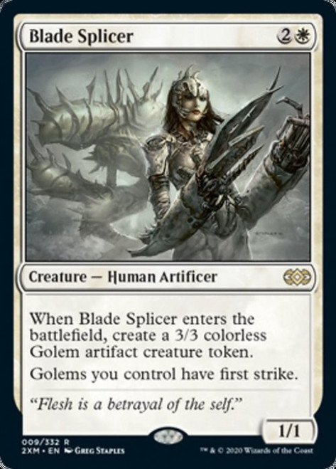 MtG Double Masters Rare Blade Splicer #9