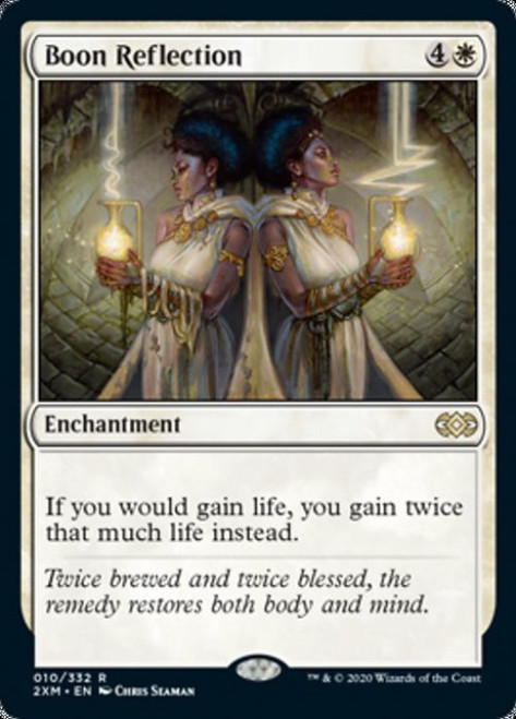 MtG Double Masters Rare Boon Reflection #10
