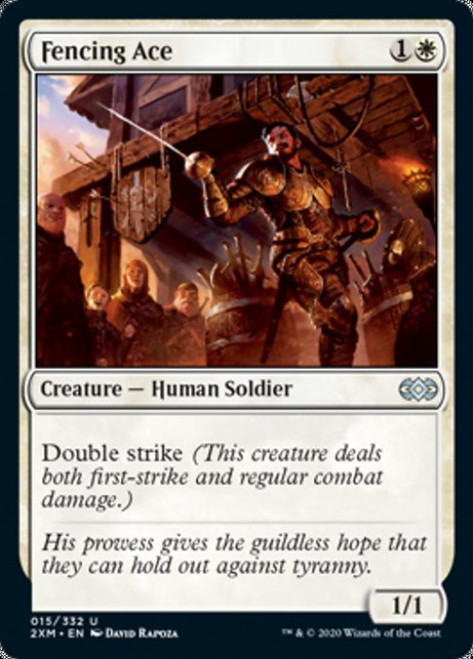 MtG Double Masters Uncommon Fencing Ace #15