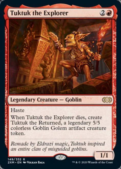 MtG Double Masters Rare Tuktuk the Explorer #149